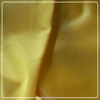 100%Polyester Tricot dazzle plain silk feeling Fabric for dress garment