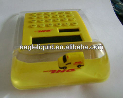 Aqua Liquid Calculator with customized floater