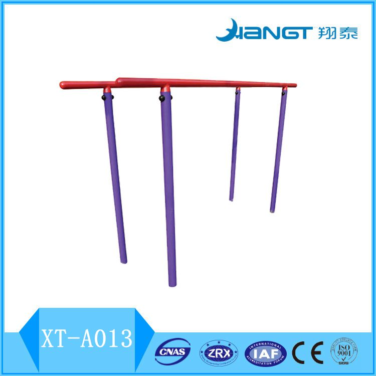 The outdoor parallel bars equipment fitness sports equipment kids fitness gym equipment XT-A013