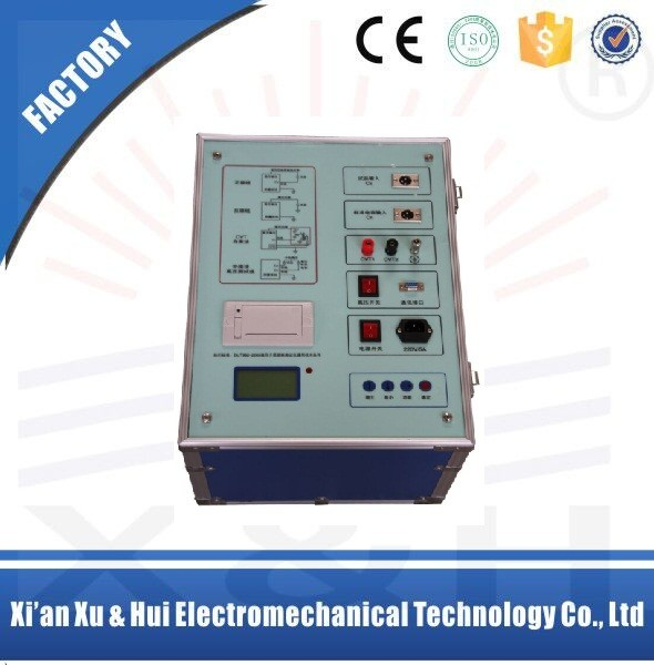 Transformer dielectric loss tester for measuremet of Tan delta and loss factor