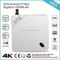 High Grade Top Selling google xbmc tv box 4k resolution sex videos animal support 4k and H.265