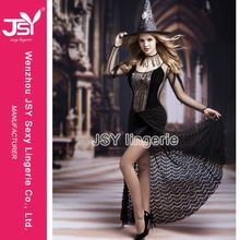 HOT SALE unique design japan sexy adult halloween witch costume for fat women for sale