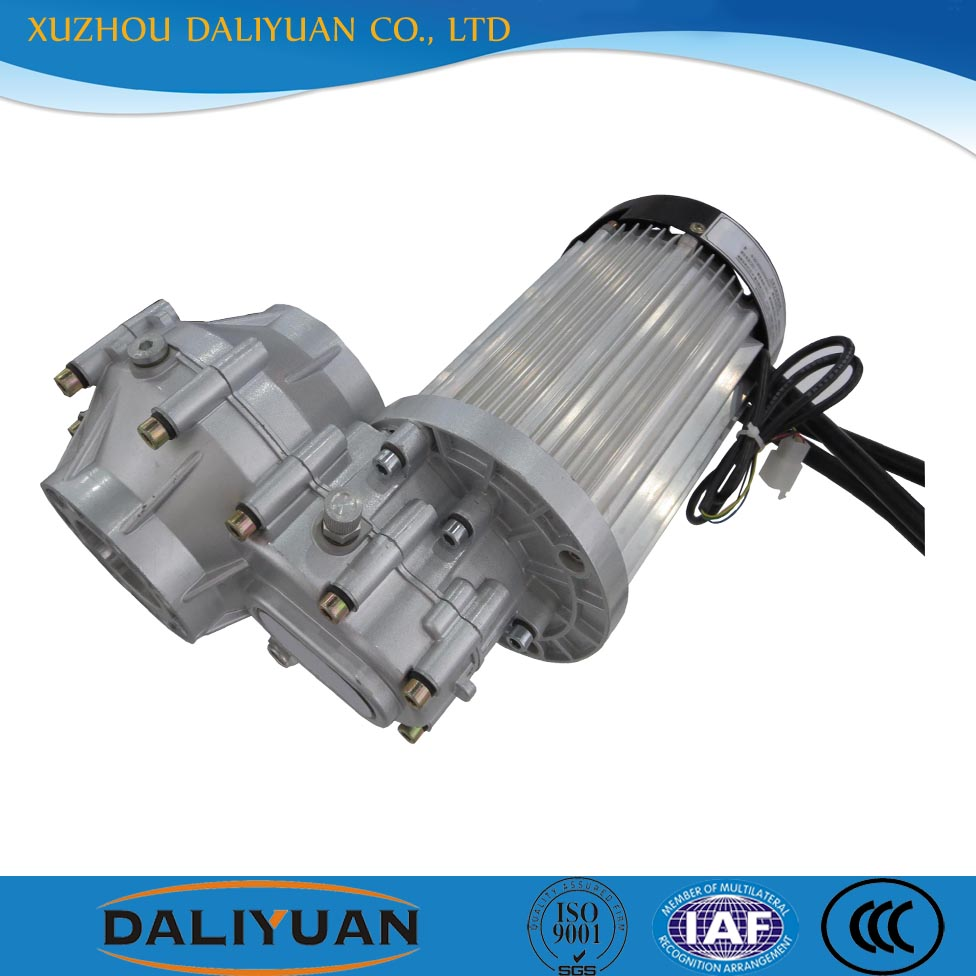 hydraulic travel dc motor 48v 7kw for electric vehicles
