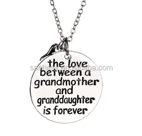 Mothers day gifts cheap mom necklace Costume Jewelry