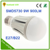 2015 New product CE ROHS 9W compare high lumen 5730 led double brighter than 5050 led