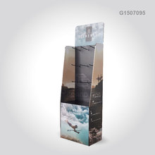 G1507095 custom cardboard paper hook power wing retail mobile phone accessory display stand for promotion