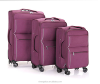 2014 PC Luggage & Backpack with American Style Fashion Design and Colorful High Quality 4- Wheels Travel Trolley Luggage