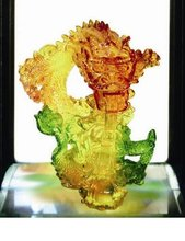 Lazurite Like Resin Craft Gift with LED light and with Frame Stand (Leave your Email address to inquiries)