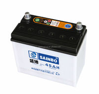Various Dry charge battery from SAINBO GROUP for selling 12 v36