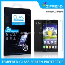 2014 Newest Tempered Glass Screen Protector for LG P880 import mobile phone accessories