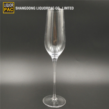 Popular wholesale clear steamwear goblet champagne glass wine 32cl flute cup