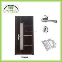 China supplier interior residential wood door design