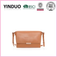 Wholesale no name brand import real brown cow leather shoulder bags fashion patent ladies oe pure leather handbags south america