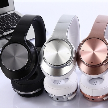 Stereo bluetooth headset with wireless 4.0 earphone