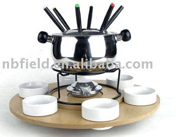 fondue set,chocolate fondue set,cheese fondue set