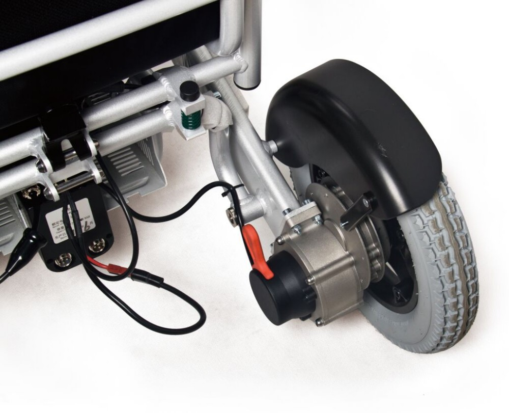 Electric wheelchair conversion kit brushless electric for How to motorize a wheelchair