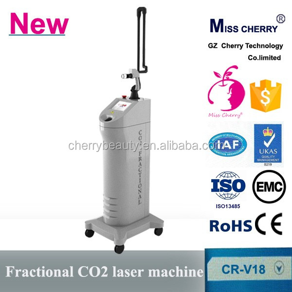 home use co2 fractional laser Remove eye bags/surgical scars/stretch marks removal Beauty Equipment machine
