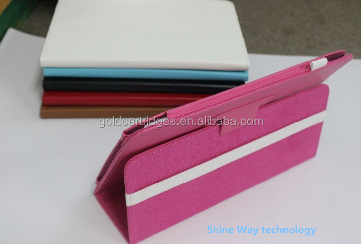 Wholesale Price Tri-fold Flip Folio Leather Case For Lenovo idea Tab S6000 10.1 WiFi Version