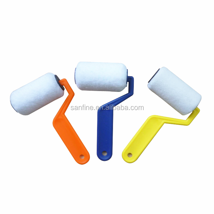 New Style 76mm mini Textured roller Paint Tools Painting Roller Brush