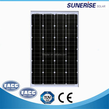 12v system voltage 36cells monocrystalline 60w solar panels