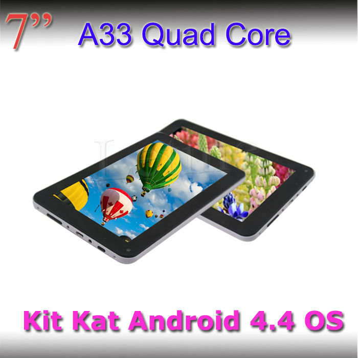 7inch tablet a33 86v quad core 1024*600 touch screen MID quad core 7 inch tablet cheap price