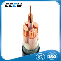 Copper conductor XLPE insulated PVC sheathed 10mm2 power cable
