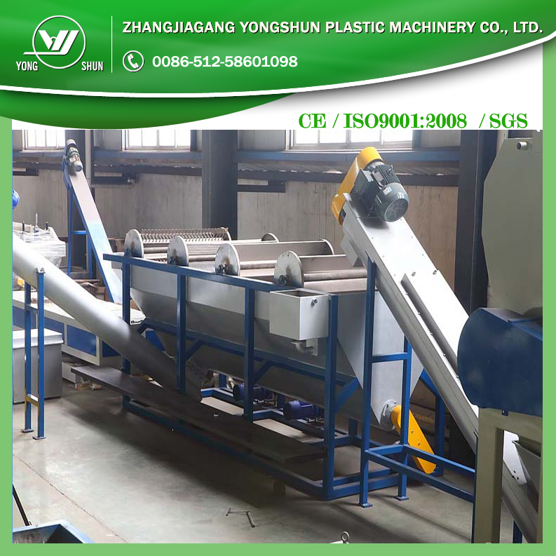 LIANSHUN machinery PP PE film washing recycling PET bottle washing line