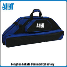 600D polyester compound bow case for bow and arrow handle bow bag with OEM logo