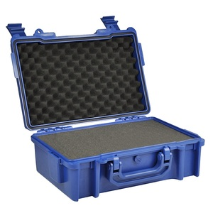 Factory wholesale price hard waterproof abs plastic equipment case with foam
