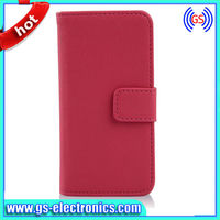 Luxury Wallet Leather Case for iphone 5C Retro Flip with Stand + Credit Card Holder