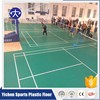 Anti-slip PVC Badminton Court Flooring With Different Color