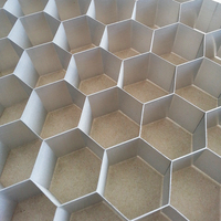 Aluminium honeycomb core for mobile home ceiling panel, house ceiling design materials
