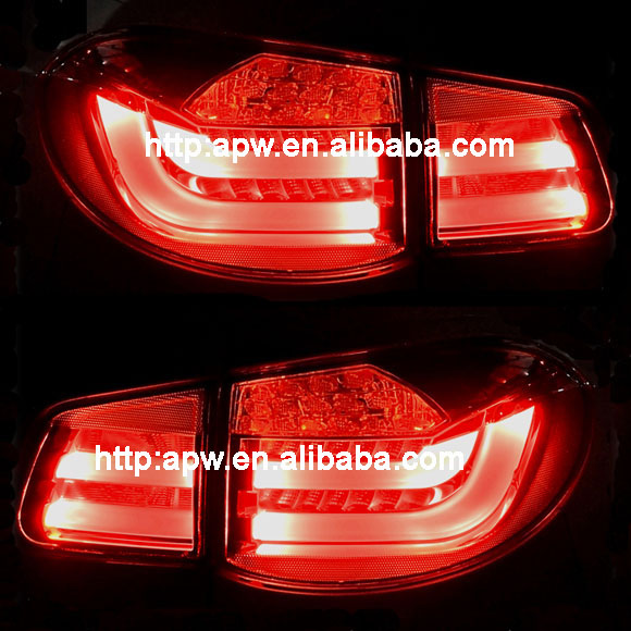 Car Accessories Red Led Tail Lamp For Volkswagen Tiguan 2010-UP