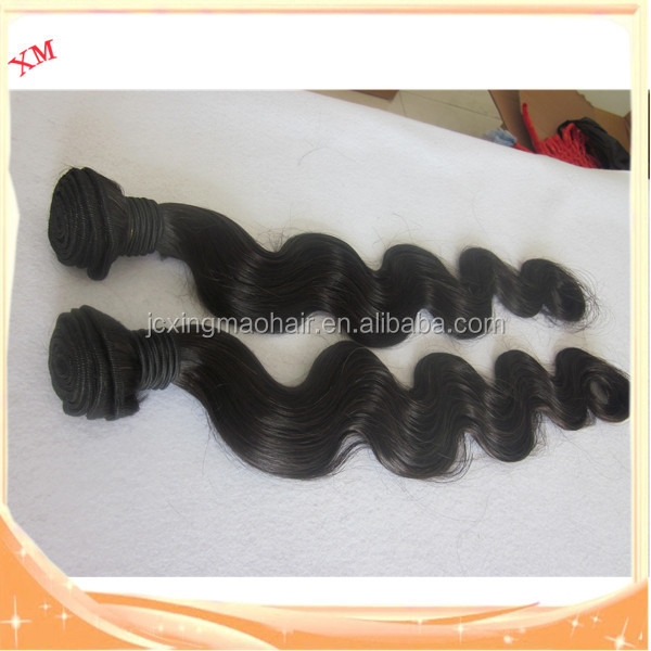 2017 black virgin unprocessed body wave silk hair for women