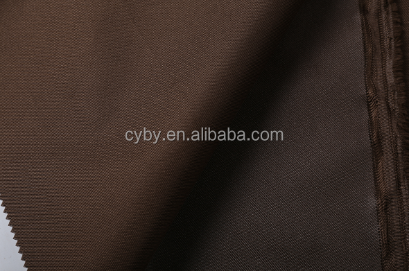 72T woven waterproof polyester oxford fabric pvc coating fabric