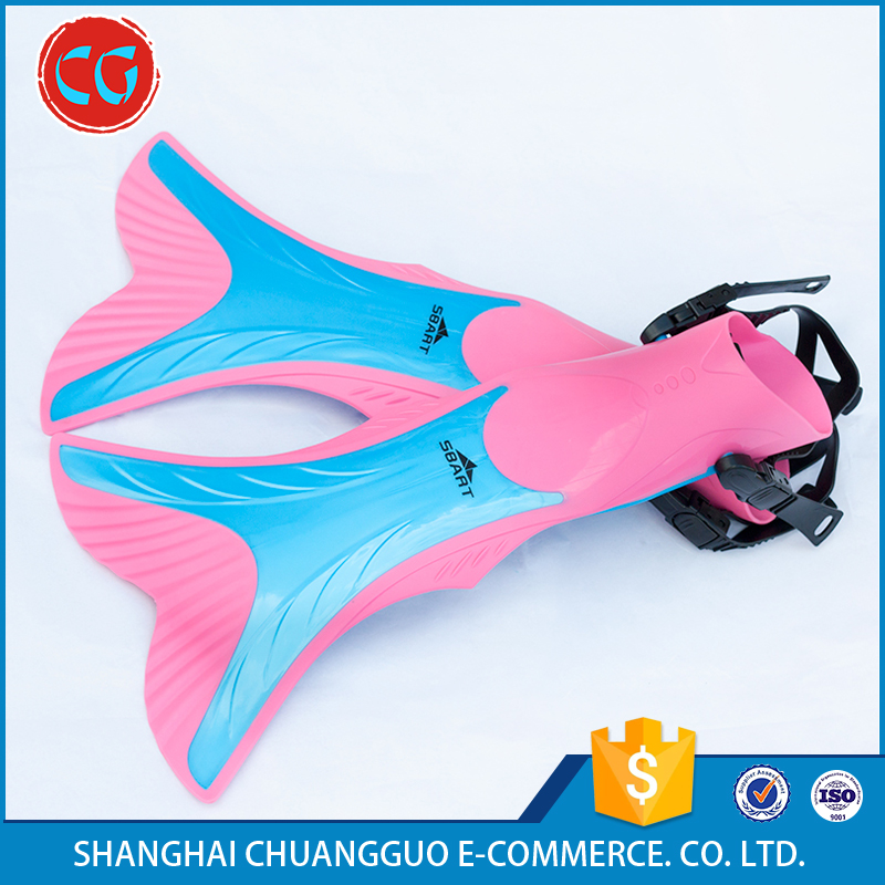 Colourful Snorkel Thermoplastic Rubber-TPR Carbon Fins
