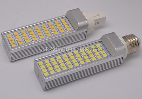 85-265V AC PL 9W 6400K Light B22/E27/E14/G24 LED PL Light