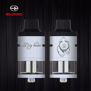 New trend 2017 e-cigarette Ehpro Big Bear rdta lost vape free for wholesalers