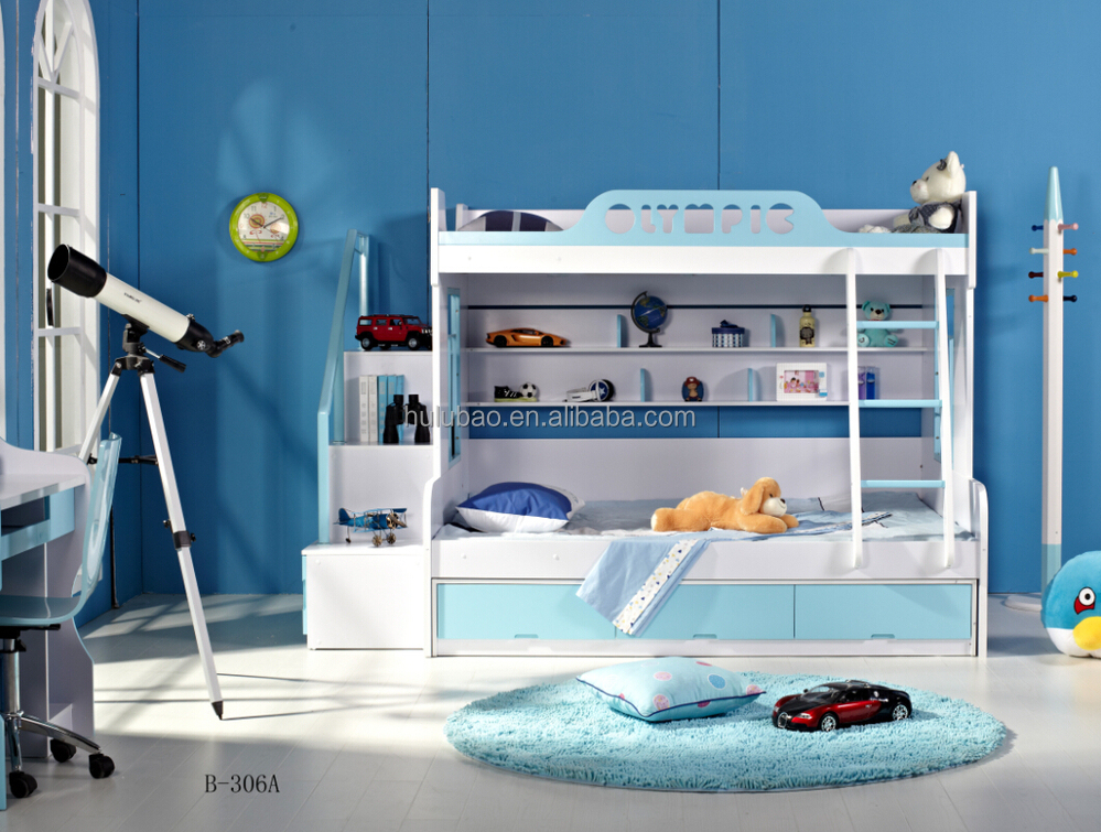 Dongguan Cheap Kids Bunk BedsKids Double Decker Bed