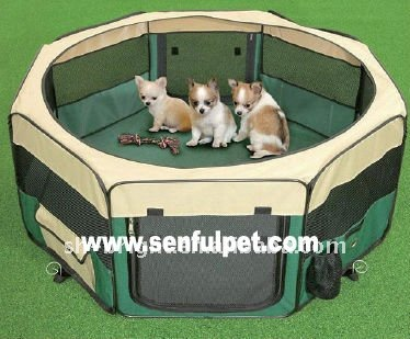 Foldable Dog Play Yard