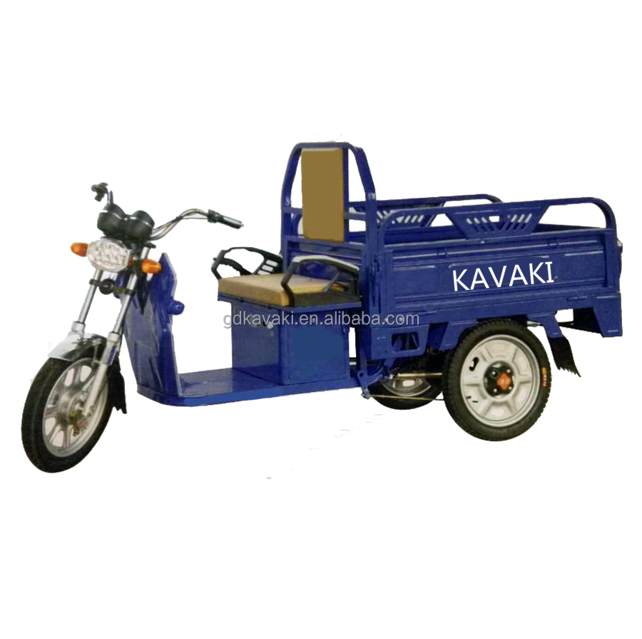 KAVAKI Battery Powered Dump Truck Utility Vehicles/ 1200w Electric Auto Rickshaw/Tricycle