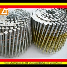 long collated coil pallet nails for nail gun