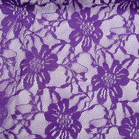 best selling cheap elastic nylon knitted lace fabric 6617