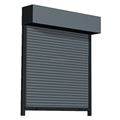 Aluminium roller garage door