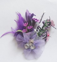 DINAH artificial flower brooch for bride and groom handmade quality jewelry BB37