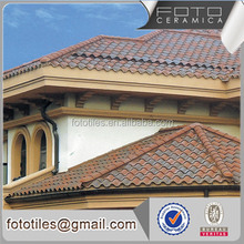 China easy instalation ceramic roof asphalt tile price