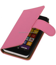 well protective with card slot leather wallet moblet phone case for nokia L530