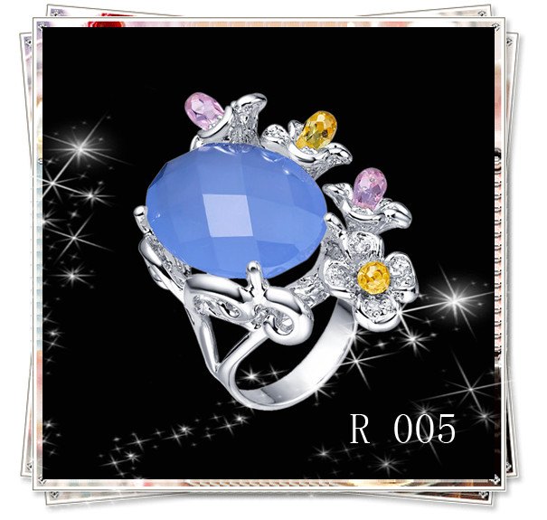Fashion Silver 925 Ring,Women Diamond Wedding Two Stone Ring Designs,Elegant CZ Stone Band Ring
