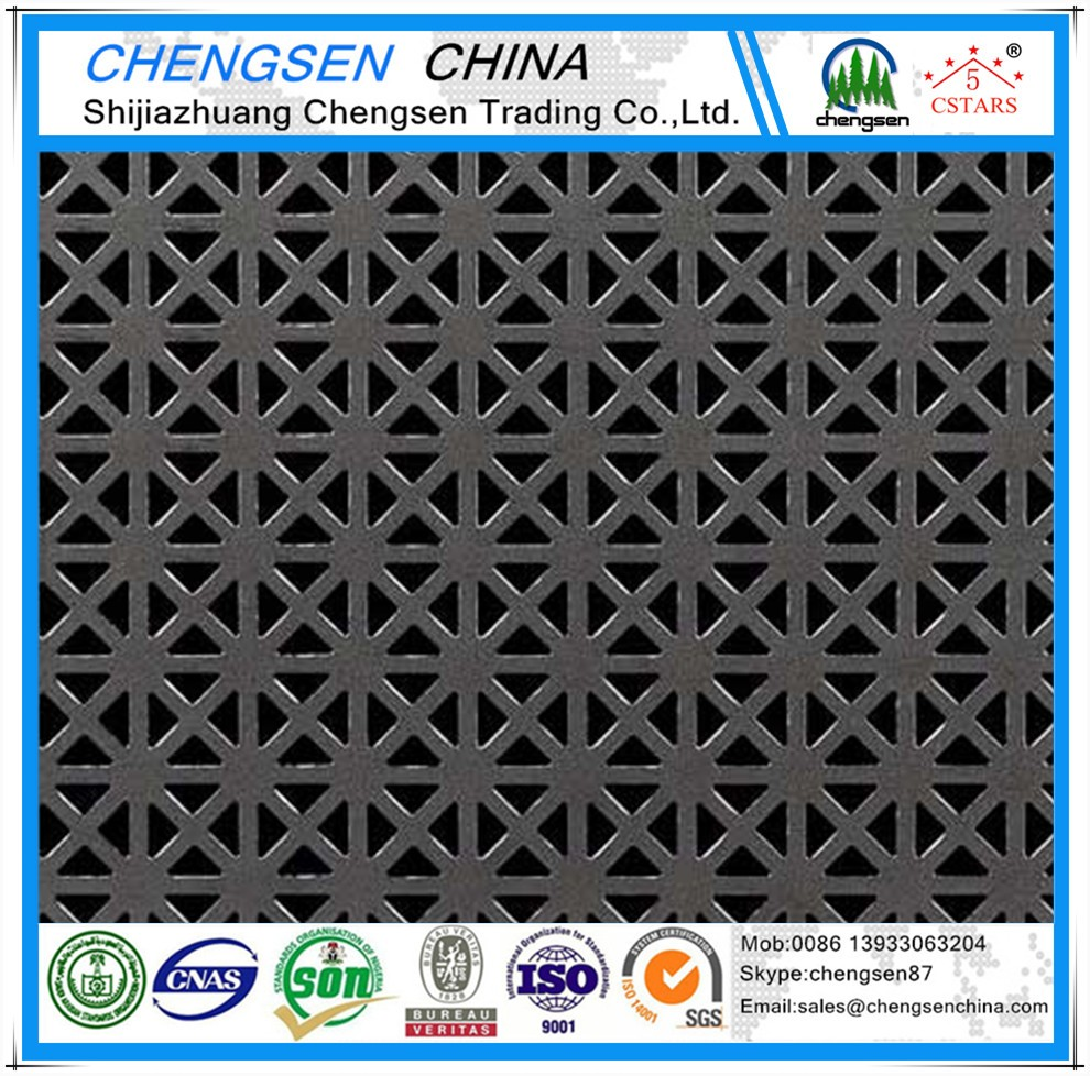 square hole stainless steel 304 and 316l perforated sheet metal price list