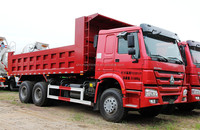 SINOTRUK HOWO used trucks scania tipper